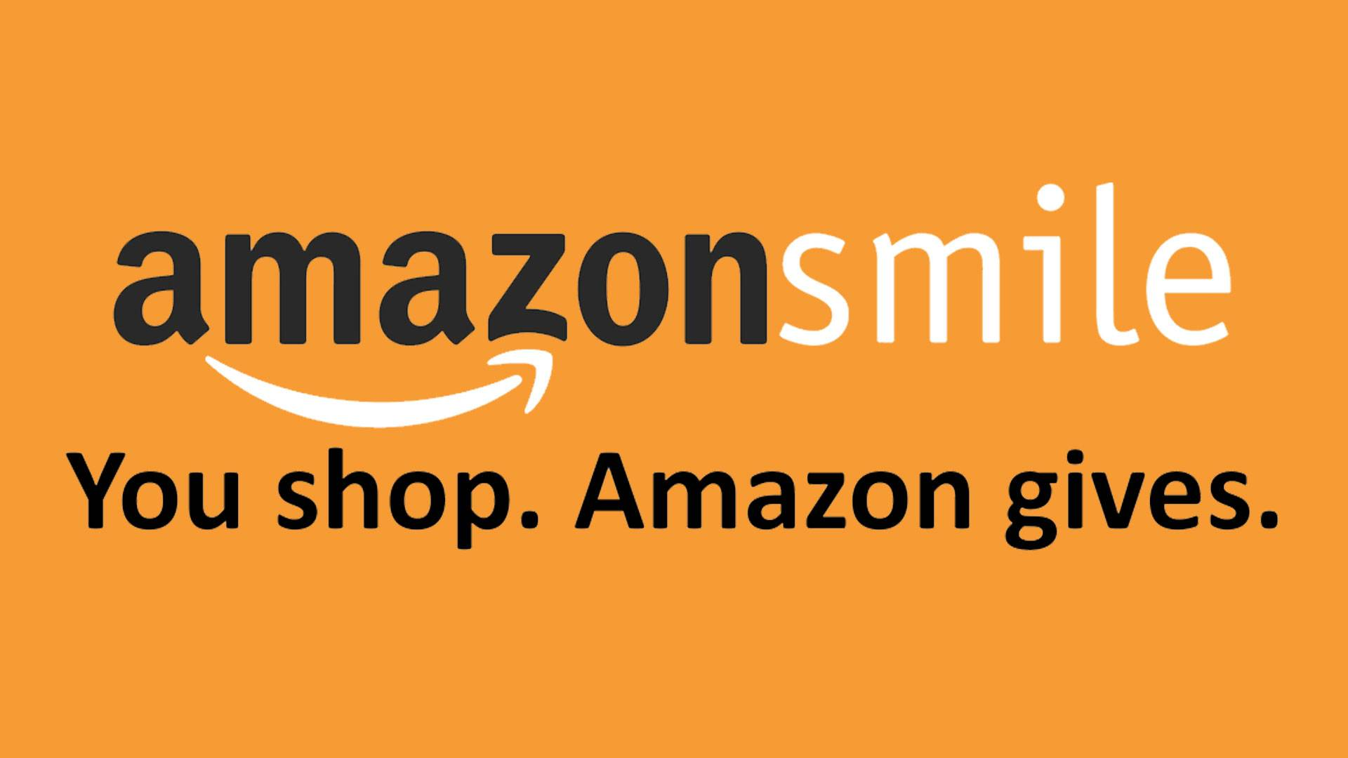 amazonsmile You shop. Amazon gives.